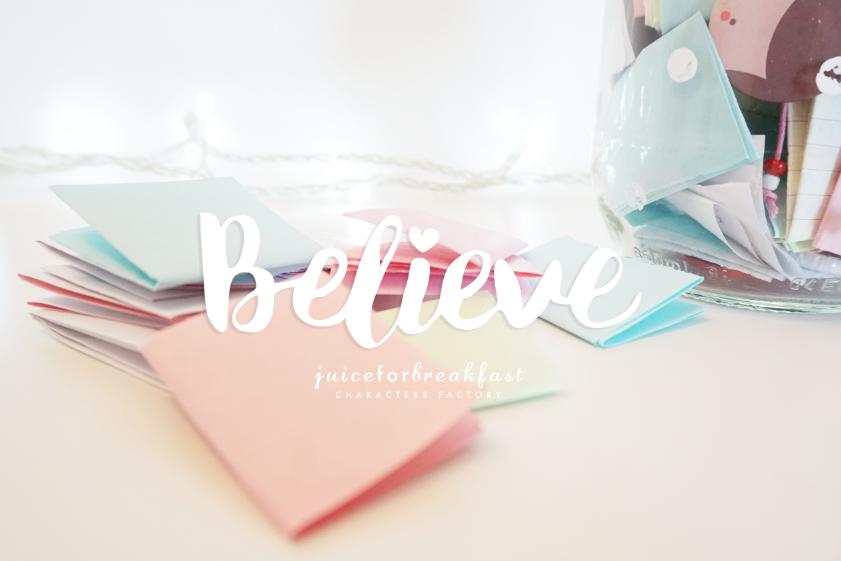 believe_scritta
